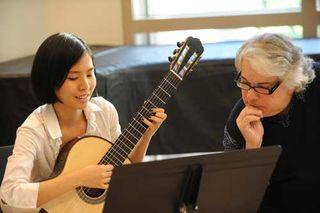 David Starobin teaching
