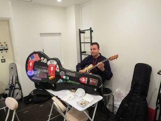 Ewan dobson practicing