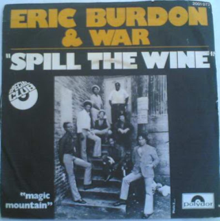 Eric burdon war