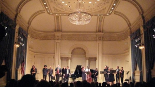 Ann licater carnegie hall