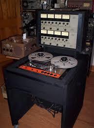 Ampex tape recorder