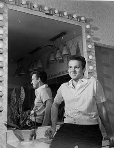 Bobby vinton dressing room