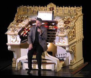 Dennis james theater organ