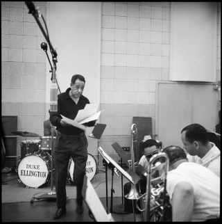 Duke ellington in studio