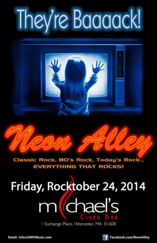 Neon alley poster 1
