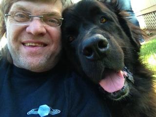 Charles xavier dog