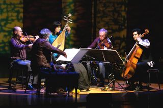 Wu Man performs with Kronos