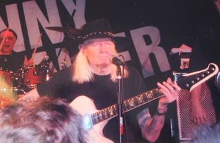 Johnny Winter Donkey