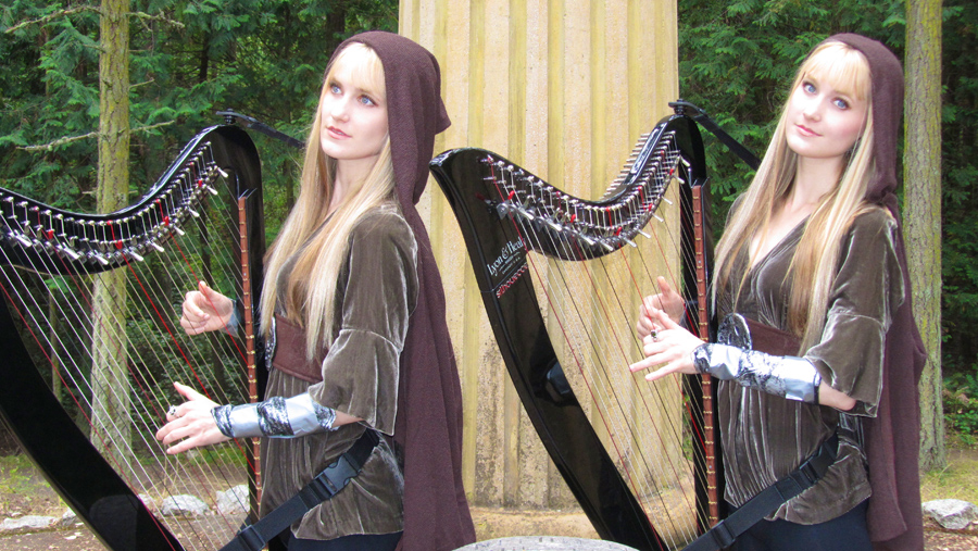 Camille and Kennerly Kitt - An Interview with the Harp Twins