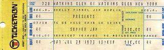 Watkins Glen Ticket