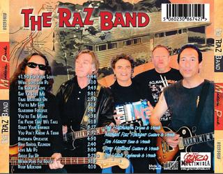 Raz back cover