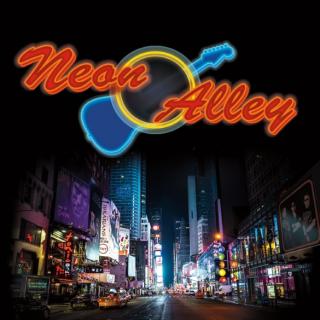 Neon alley city