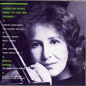 Ursula Oppens cd