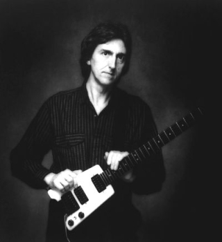 Allan holdsworth Black and white