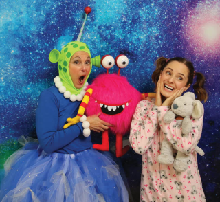 Ruth Weber and Emilia costume