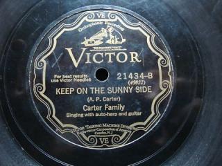 Carter family 78