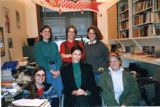 Ellen Stekert teaching