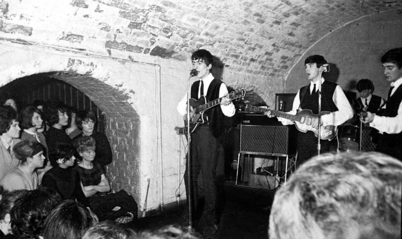 Beatles at Cavern.
